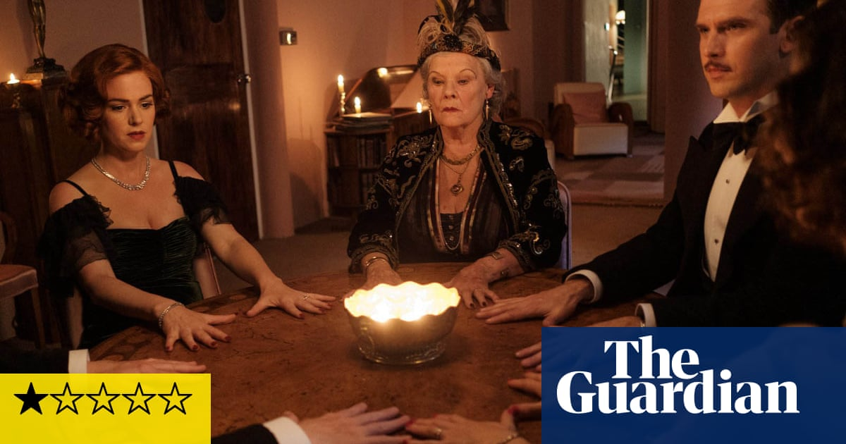 Blithe Spirit review – Judi Dench presides over a deathly farce