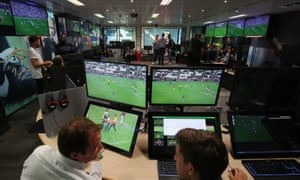 VAR decisions will be referred to the team at the Stockley Park HQ near Heathrow