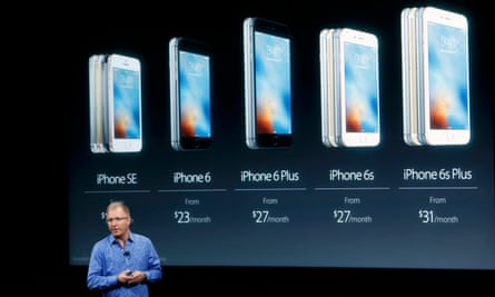 The iPhone SE launched by Apple Vice President Greg Joswiak