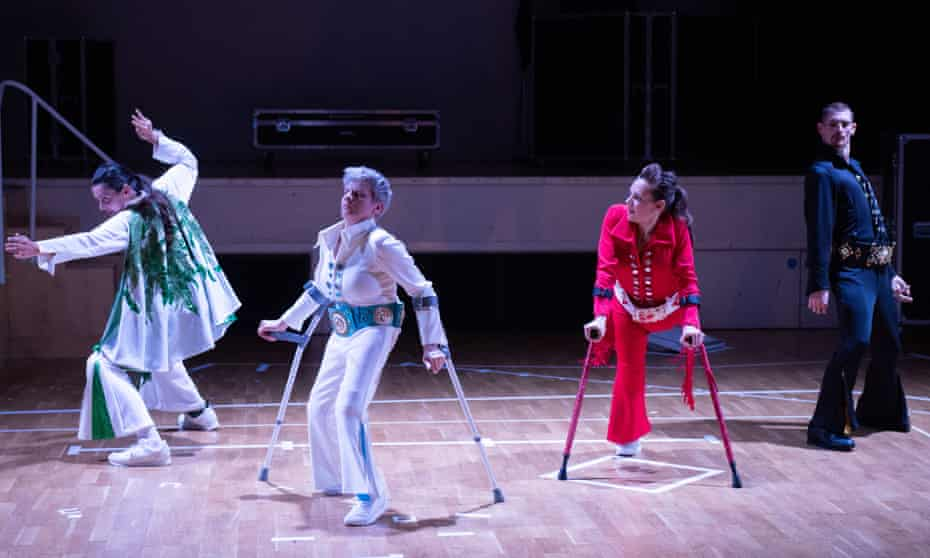 Vicky Malin, Claire Cunningham, Tanja Erhart, Dan Daw in Thank You Very Much