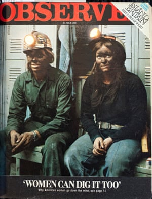 'It's important they think we can take it and give it right back': America's women miners.