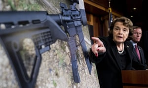 Senator Dianne Feinstein and Senator Richard Blumenthal launch their effort to ban the sale and possession of bump stock equipment.