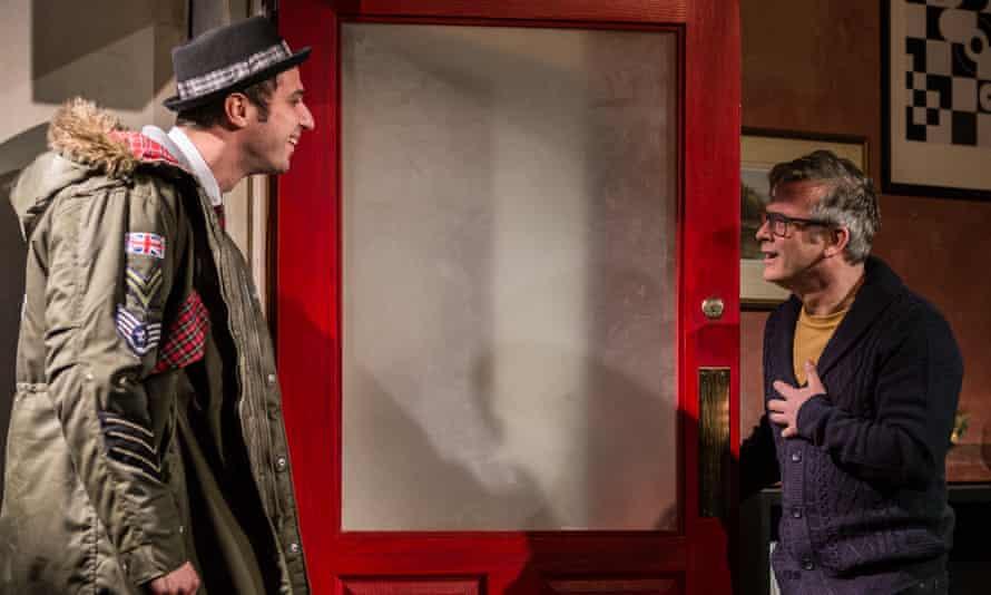 Nebli Basani as Jimmy and Paul McCole as Stevie in I Can Go Anywhere.