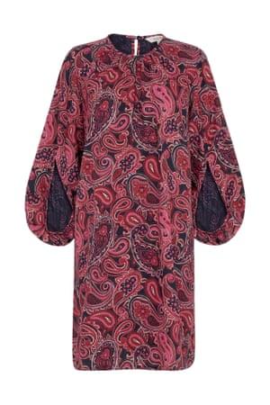 Paisley dress, £49.01, peopletree.co.uk