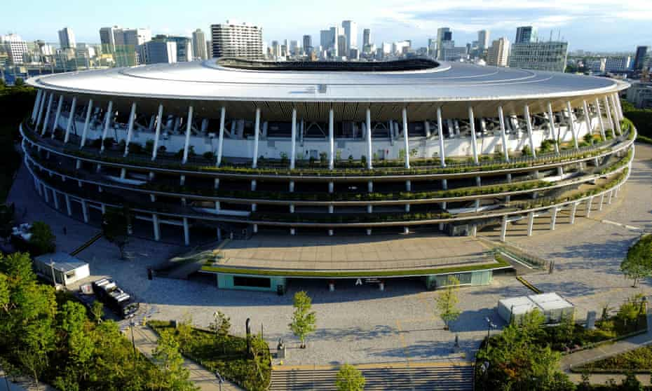 The 68,000-seat stadium is located a stone's throw from the outer gardens of Meiji-jingu Shrine and within sight of the skyscrapers of Shinjuku.