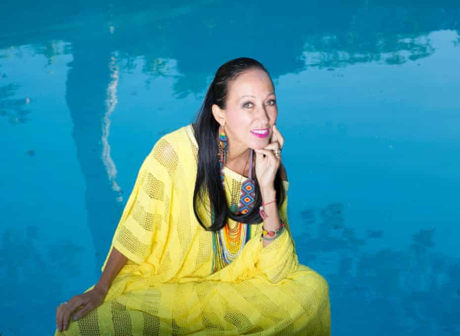 'I didn't see anybody that looked like me, or was like me' ... Pat Cleveland at home in New Jersey last month.
