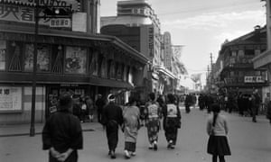 Tokyo in the 1930s, where Sorge worked for the Frankfurter Zeitung.