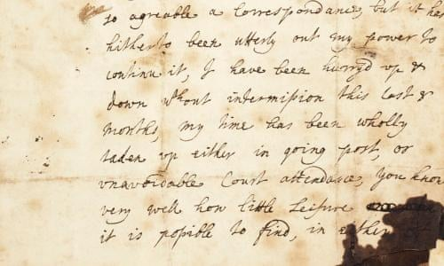 Rare Letter By Mary Wortley Montagu Pioneering Travel Writer Up For Sale Books The Guardian