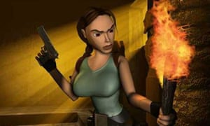 Lara as she looked a decade ago