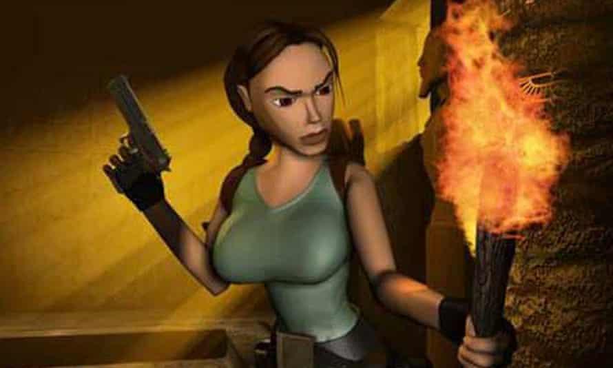 Lara as she looked a decade ago