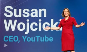 YouTube CEO Susan Wojcicki said human moderators 'remain essential to removing content'.