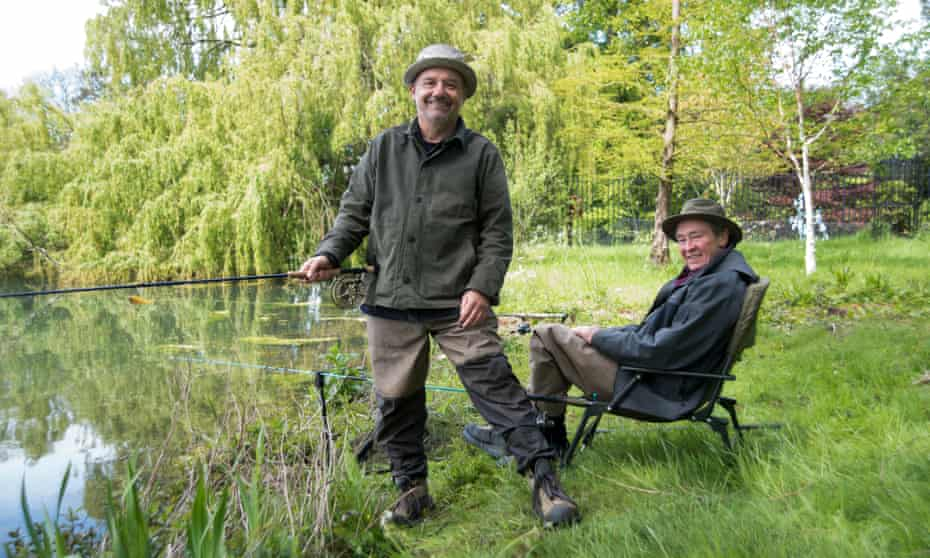 'The kick up the arse I needed': Bob Mortimer with Paul Whitehouse in Gone Fishing, August 2021