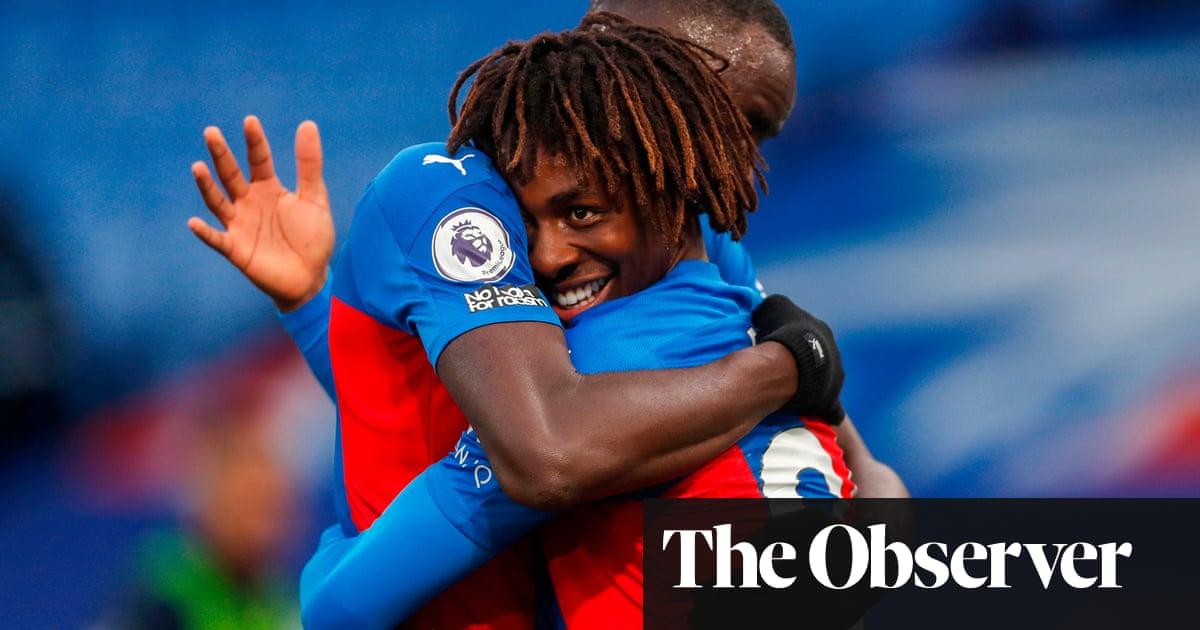Eberechi Eze inspires Crystal Palace rout of Leeds after VAR denies Bamford