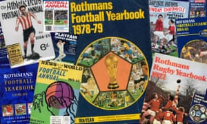 fcd6d5bf7c4 Rothmans Football Yearbook, now sponsored Sky Sports, could be the latest  sporting annual to