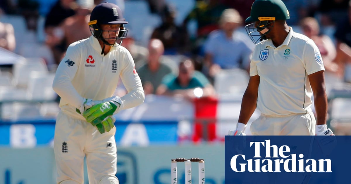 Jos Buttler sorry for abusing Vernon Philander in England's Cape Town win