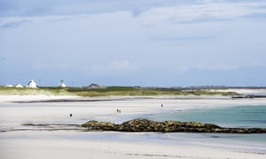 Soroby Bay on the isle of Tiree, Inner Hebrides.