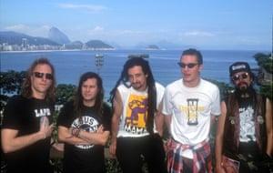 Faith No More in Rio, January 1991.