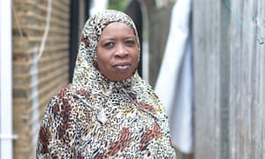 Maimuna Jawo, an asylum seekers and campaigner against FGM.