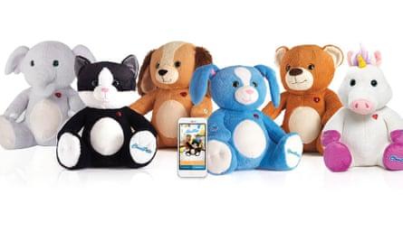 CloudPets stuffed toys.