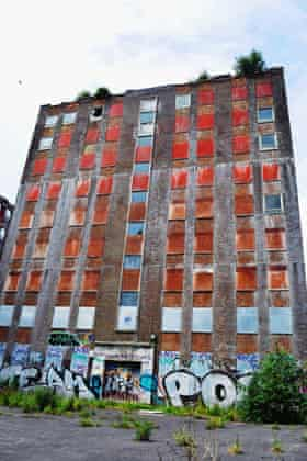 'Brighton's ugliest building' … Anston House in Brighton has a 'niche allure' for Dom Martin.