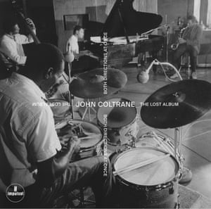 Cover artwork for John Coltrane's Both Directions at Once: the Lost Album.