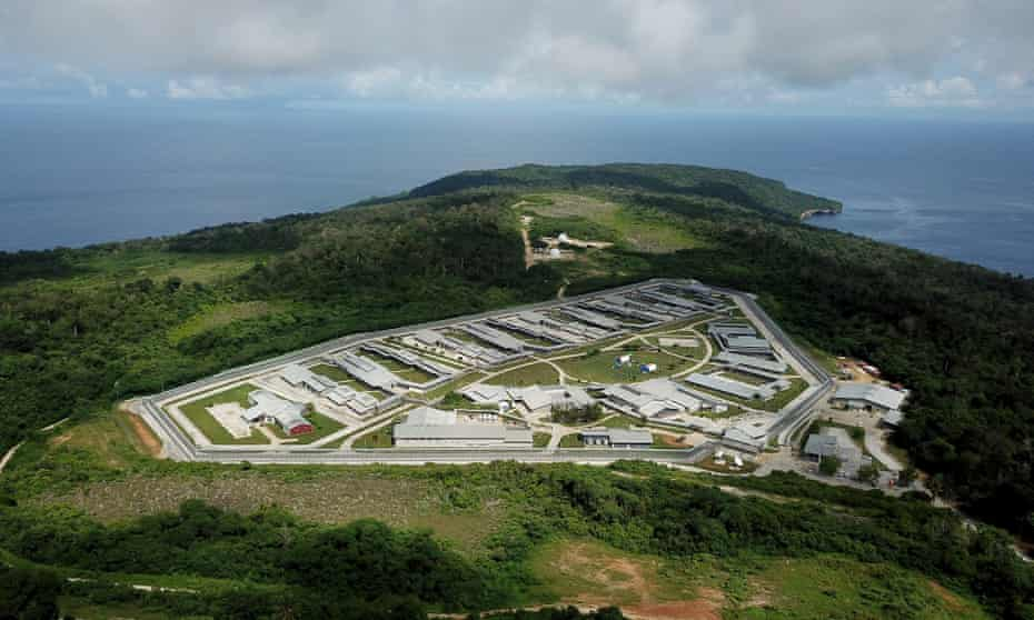 Australian Immigration Detention Centre on Christmas Island where Australian nationals are being quarantined after being evacuated from the epidemic-stricken Chinese city of Wuhan.