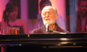 Mose Allison performing on the BBC's Later … With Jools Holland in 2005.