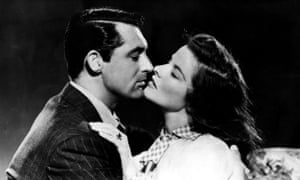 Cary Grant and Katharine Hepburn in The Philadelphia Story