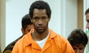 John Allen Muhammad being sentenced in Manassas, Virginia, in 2002