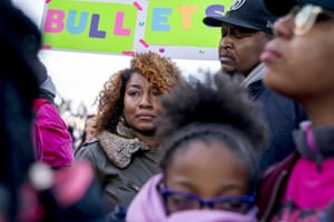 Taurica and Alden Haskins Jr are among family members attending in memory of Jamahri Sydnor, 17, who was shot dead in August 2017, in Washignton