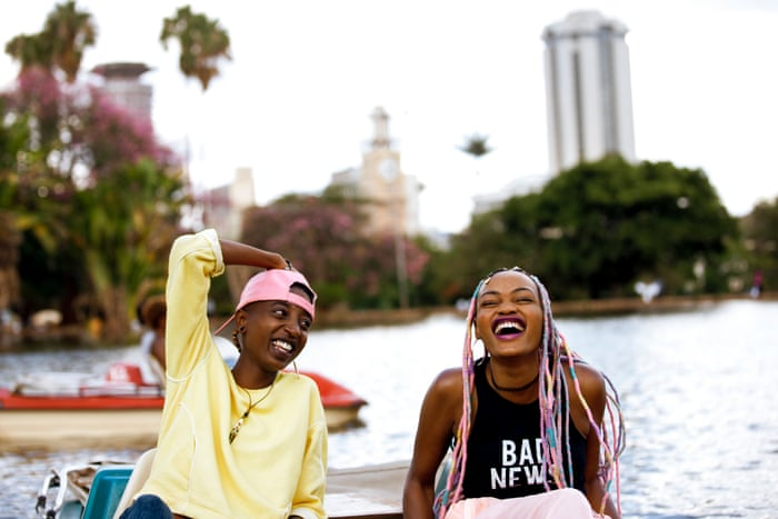 Image result for kenyan young people laughing