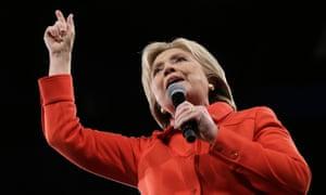 Hillary Clinton will air four new TV ads as Republicans debate.