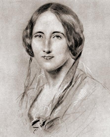 Illustration of English novelist and short story writer Elizabeth Gaskell.