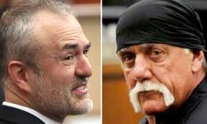 Nick Denton, founder of Gawker, clashed with Terry Bollea, AKA Hulk Hogan, before the site declared bankruptcy.