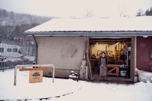 Jamie Kunka: 'We're at Birnam, Lonely Mountain Ski's headquarters'