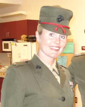 Former marine Kate Hendricks Thomas.