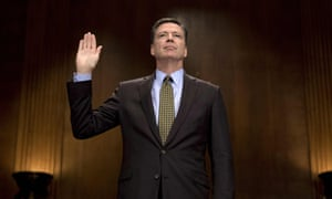 Ousted FBI director, James Comey.