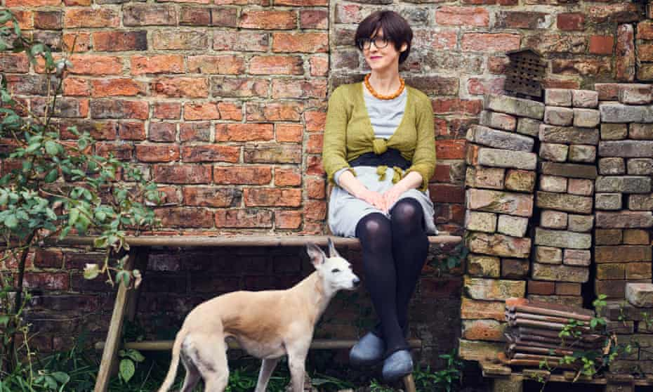 """Emma with her faithful hound: 'The brand's mission statement – """"live simply, consume carefully, do good"""" – caught something in the collective imagination.'"""
