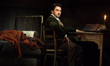 Opera singer Charles Castronovo, who stepped in to play the role of Rodolfo at the Royal Opera House.