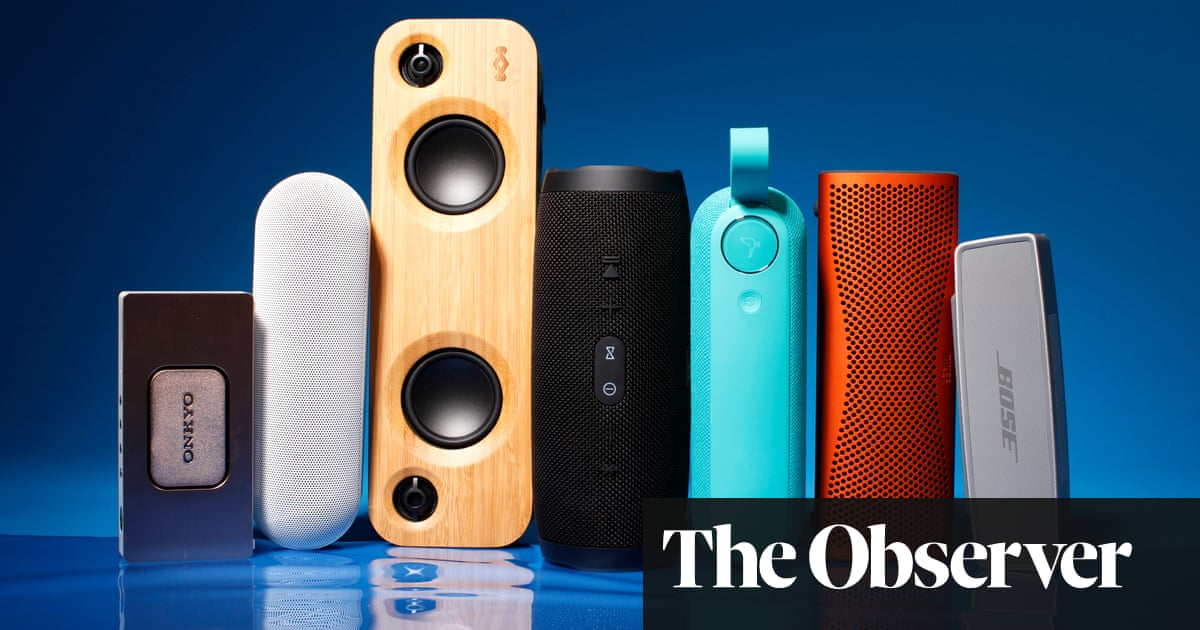 Carry a tune: seven of the best portable Bluetooth speakers