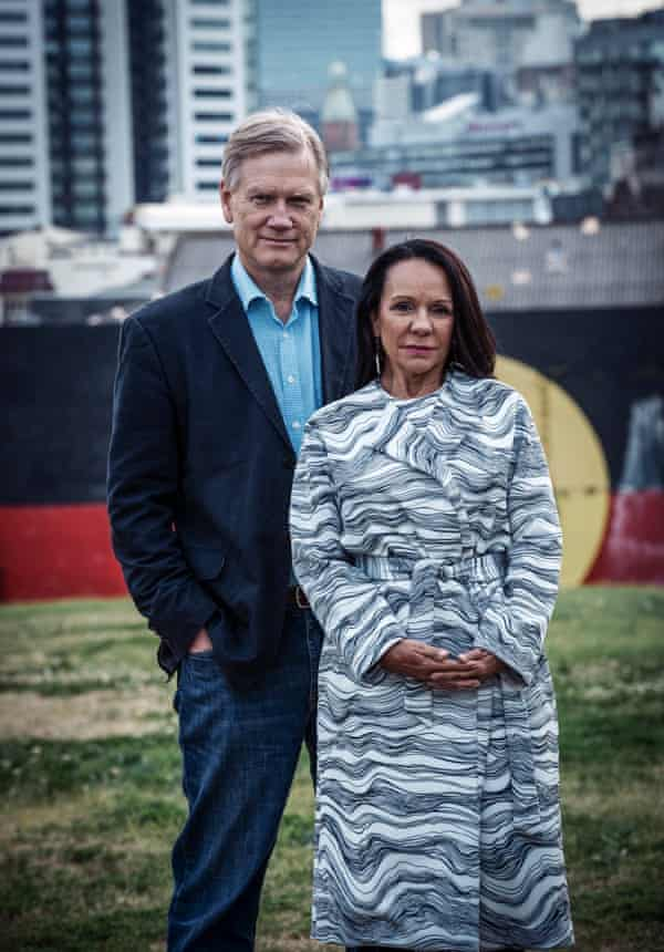 Andrew Bolt and Linda Burney in Redfern