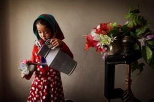 Hasti, 7, Afghanistan