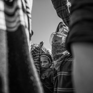 An image from Josue Rivas's series on Standing Rock