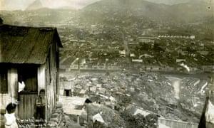 The original favela: Morro da Providência in Rio de Janeiro, photographed in 1926.