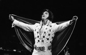 Presley performs at Madison Square Garden in this June 1972 photo by George Kalinsky. Kalinsky, who has been the official Garden photographer for more than 40 years, came across the never-before-seen photos while looking for images for a publicity campaign called 'Great Moments in New York'