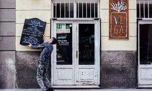 Vega vegan restaurant, Madrid