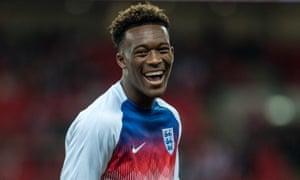 Callum Hudson-Odoi may start for England against Montenegro on Monday evening.