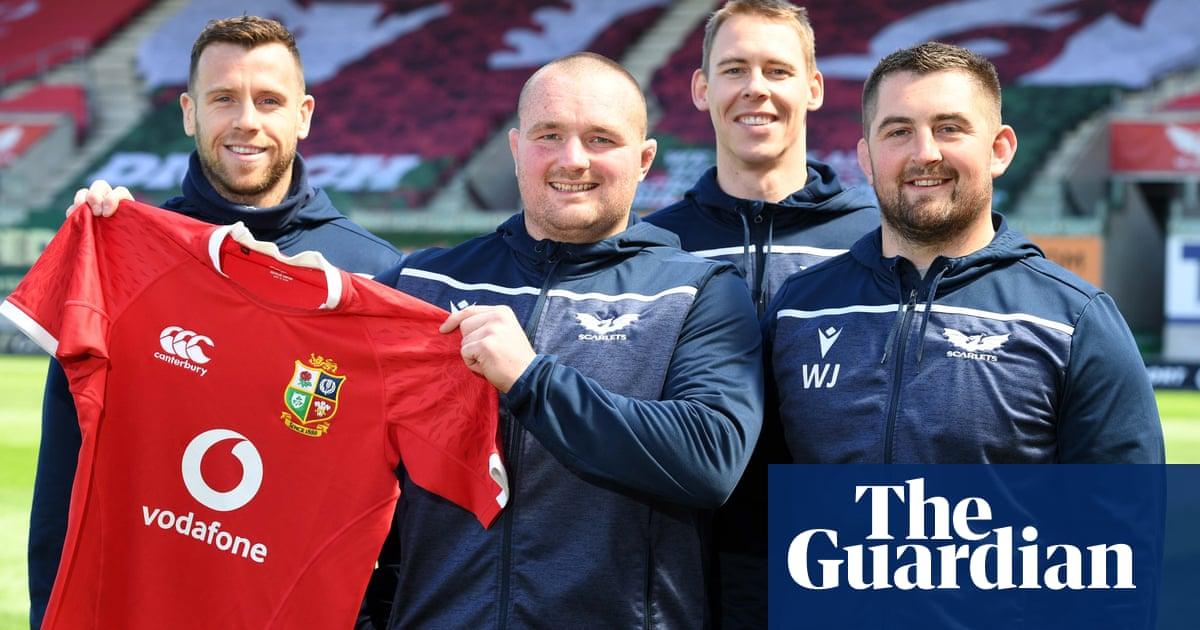 British & Irish Lions squad 2021: the chosen 37 – in pictures