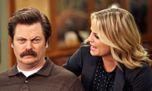 … alongside Amy Poehler in Parks and Recreation.