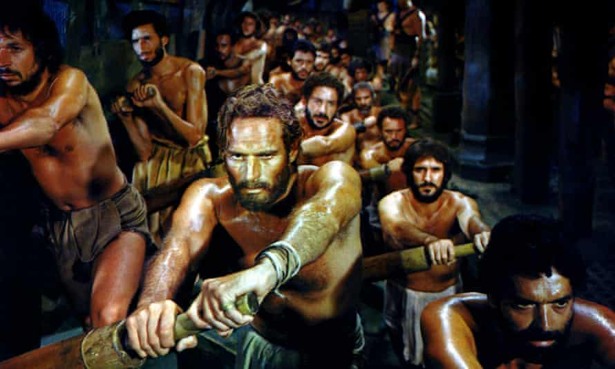 Charlton Heston in Ben-Hur. The biblical spectacular celebrates its 60th anniversary this month.